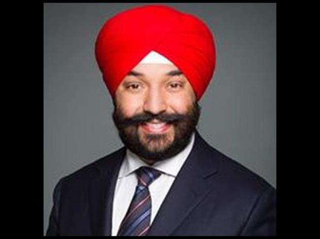 Us apologises after canadian minister navdeep bains told for Navdeep s bains